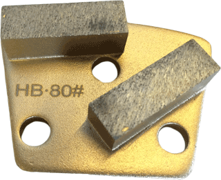 Hard Bond 80 Grit Trapezoid Tooling - HB80-2S