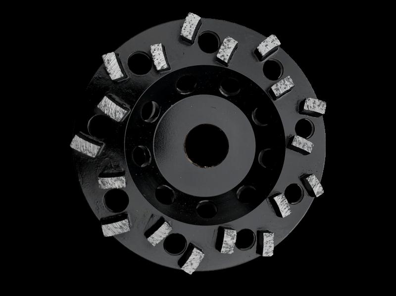 "5"" Premium Spike Cup Wheel - CW5-SPK"