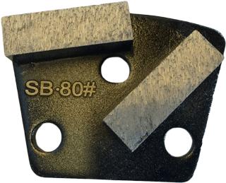 Soft Bond 80 Grit Trapezoid Tooling - SB80-2S