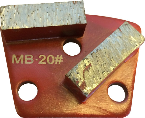 Medium Bond 20 Grit Trapezoid Tooling - MB20-2S - Tooling