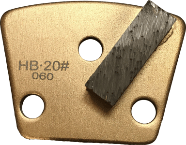 Hard Bond 20 Grit Single Segment Trapezoid Tooling - HB20-1S - Tooling