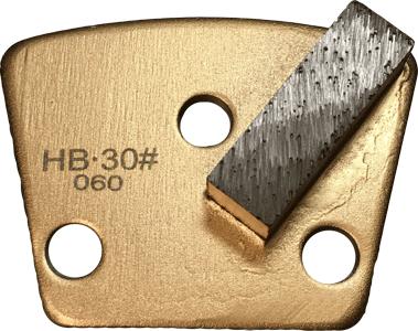 Hard Bond 30 Grit Single Segment Trapezoid Tooling - HB30-1S - Tooling