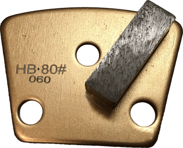 Hard Bond 80 Grit Single Segment Trapezoid Tooling - HB80-1S