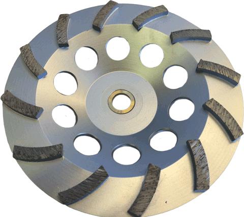 12 Segment Premium Cupwheel - CW-12S - Tooling