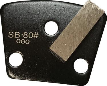 Soft Bond 80 Grit Single Segment Trapezoid Tooling - SB80-1S
