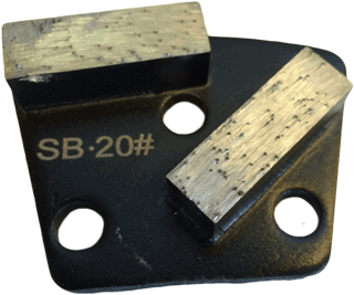 Soft Bond 20 Grit Trapezoid Tooling - SB20-2S