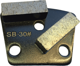 Soft Bond 30 Grit Trapezoid Tooling - SB30-2S - Tooling