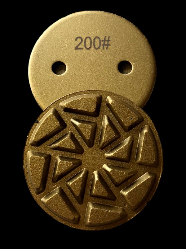 200 Grit Resin Metal Transitional Pad - BR-200 - Tooling